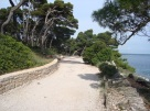 Rovinj running path 3